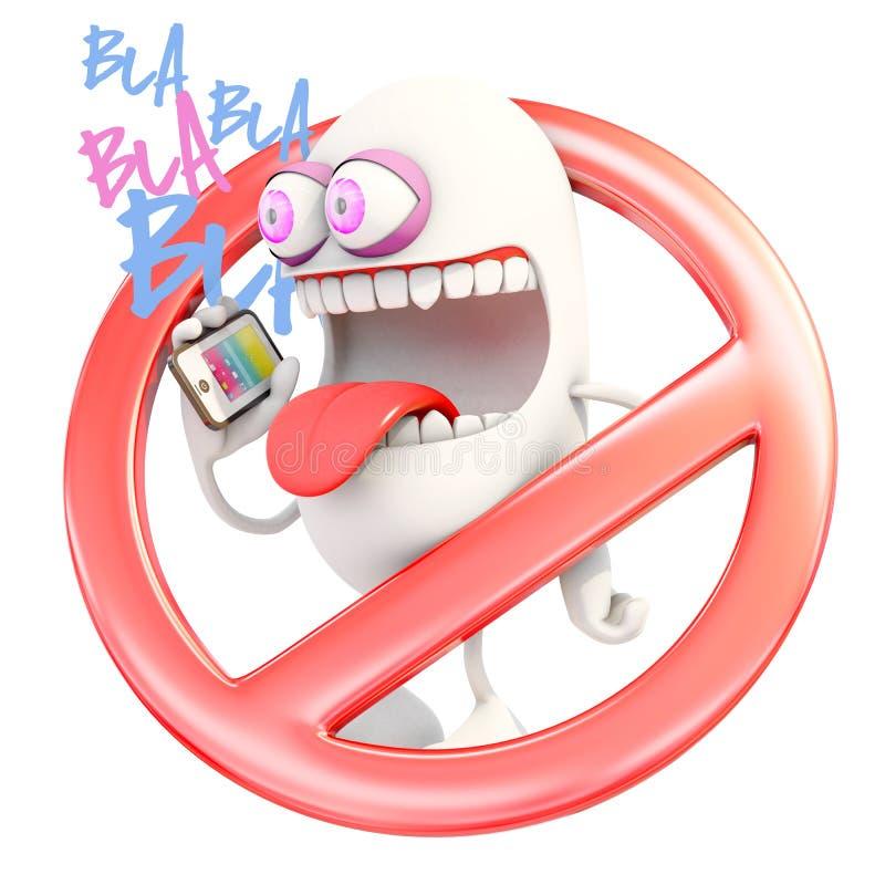 Значок запрещенный сотовыми телефонами бесплатная иллюстрация