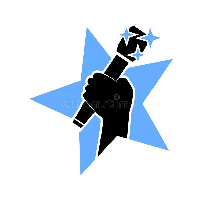 Значок звезды музыки бесплатная иллюстрация