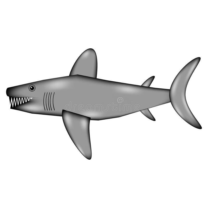 Значок знака акулы бесплатная иллюстрация