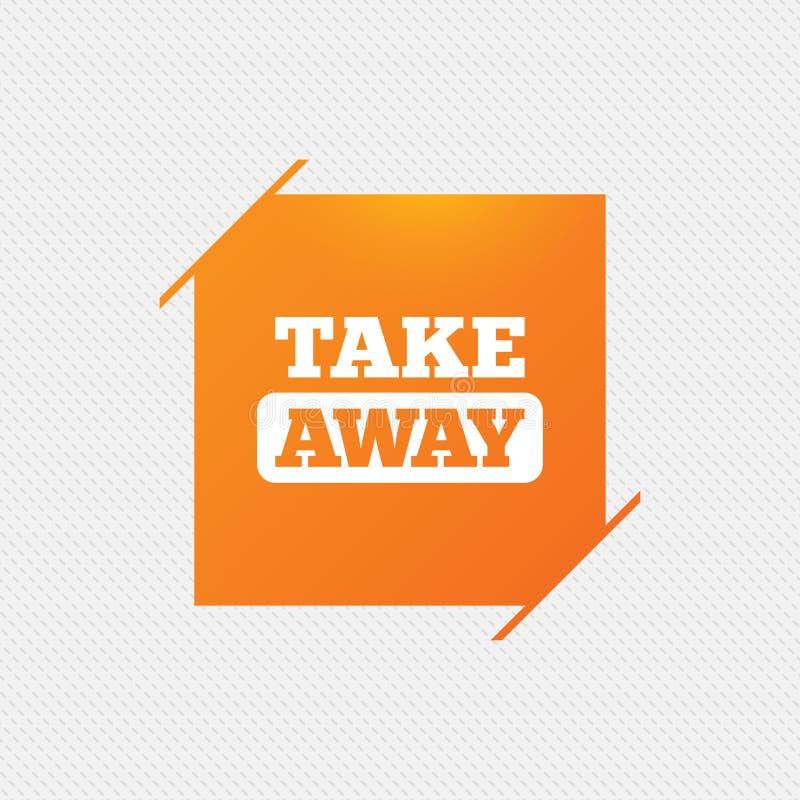 Download Значок знака взятия отсутствующий На вынос еда или питье Иллюстрация вектора - иллюстрации насчитывающей ярлык, качество: 81806051