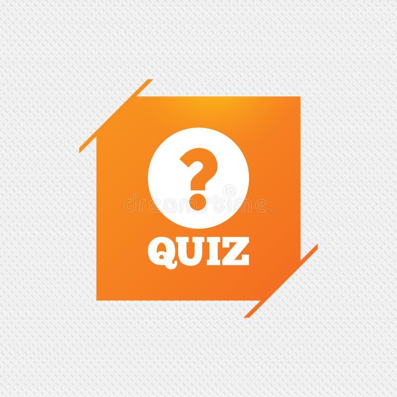 Download Значок знака викторины Игра вопросов и ответов Иллюстрация вектора - иллюстрации насчитывающей иллюстрация, картина: 81805208
