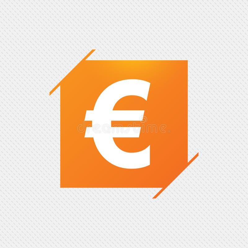 Значок знака евро Символ валюты EUR бесплатная иллюстрация
