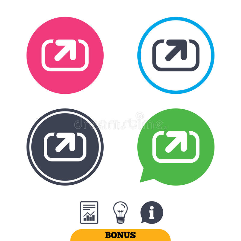 Download Значок знака действия Символ доли Иллюстрация вектора - иллюстрации насчитывающей действует, интернет: 81805667