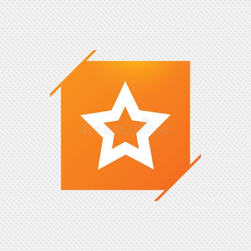 Download Значок знака звезды Любимая кнопка навигация Иллюстрация вектора - иллюстрации насчитывающей плоско, картина: 81805985