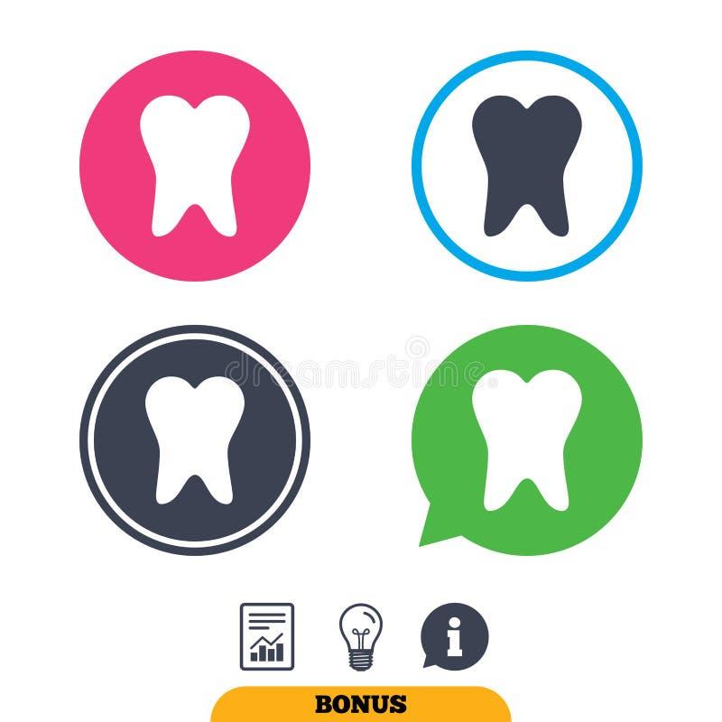 Download Значок знака зуба Символ зубоврачебной заботы Иллюстрация вектора - иллюстрации насчитывающей внимательность, микстура: 81806139