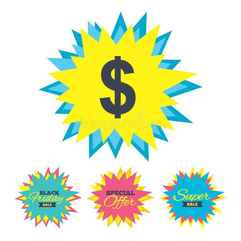 Download значок знака доллара USD символа валюты Иллюстрация вектора - иллюстрации насчитывающей рынок, знамена: 81804324