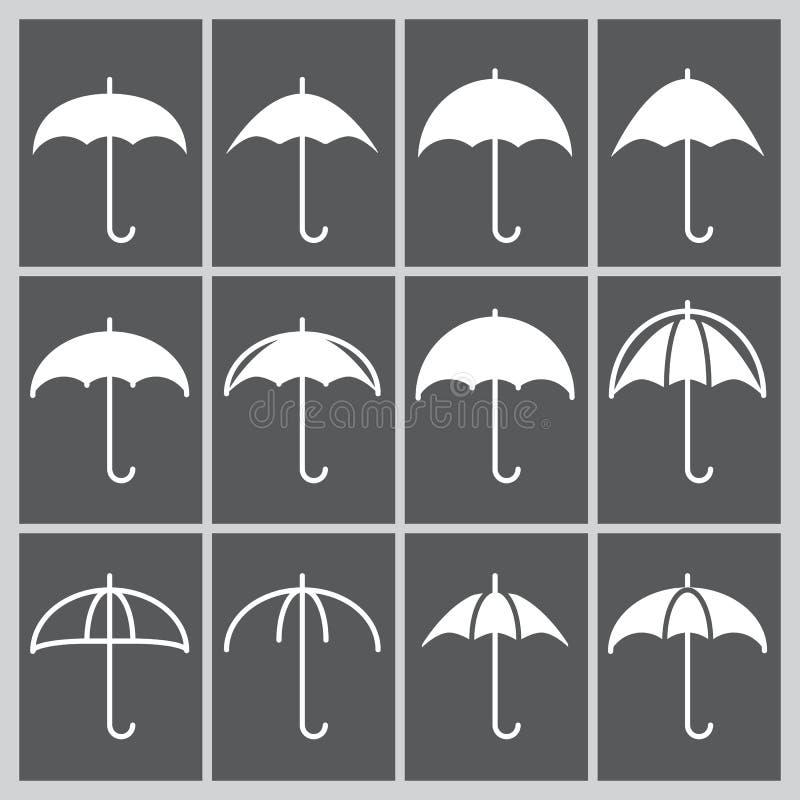 Значок зонтика