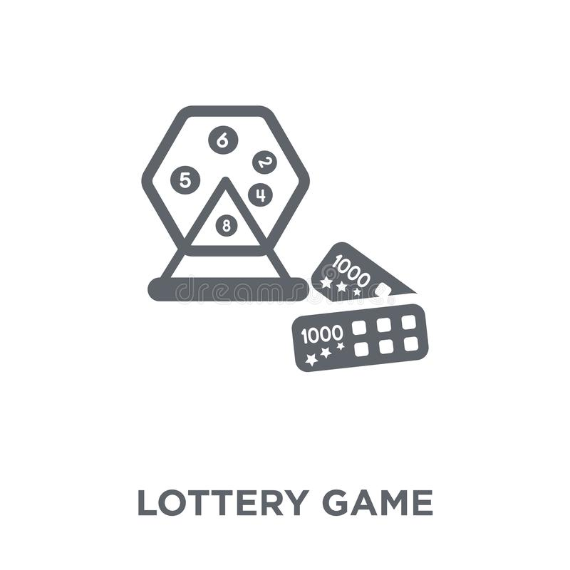 Значок игры лотереи от собрания аркады бесплатная иллюстрация