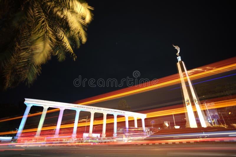 Значок Индонезия Tugu Kujang Bogor стоковые изображения rf