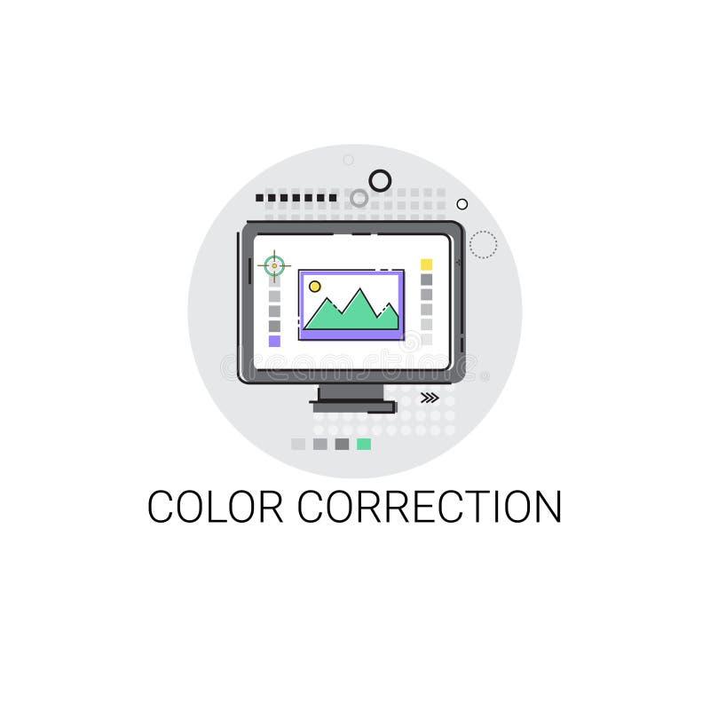Значок индустрии продукции фильма камеры коррекции цвета бесплатная иллюстрация