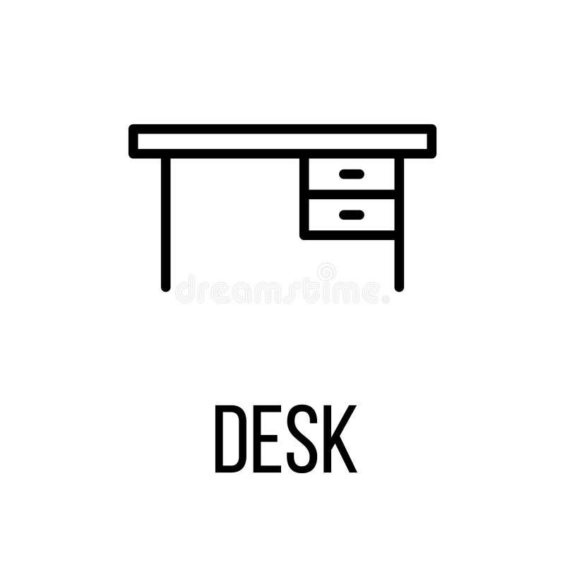 Значок или логотип в современной линии стиле иллюстрация штока