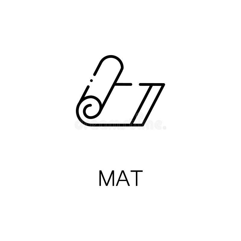 Значок или логотип циновки для веб-дизайна бесплатная иллюстрация