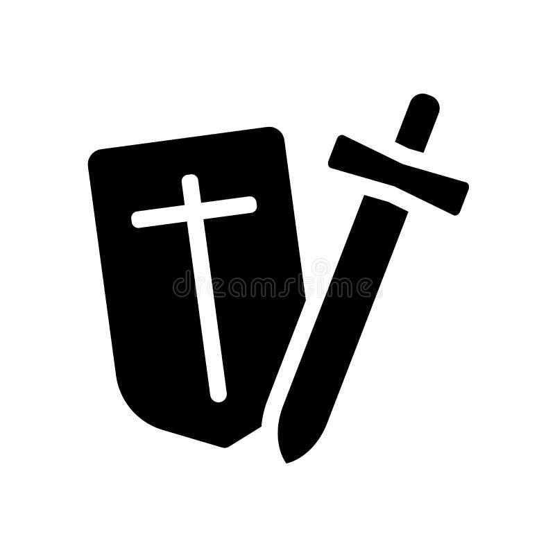Значок кампании Ультрамодная концепция логотипа кампании на белой предпосылке fr бесплатная иллюстрация