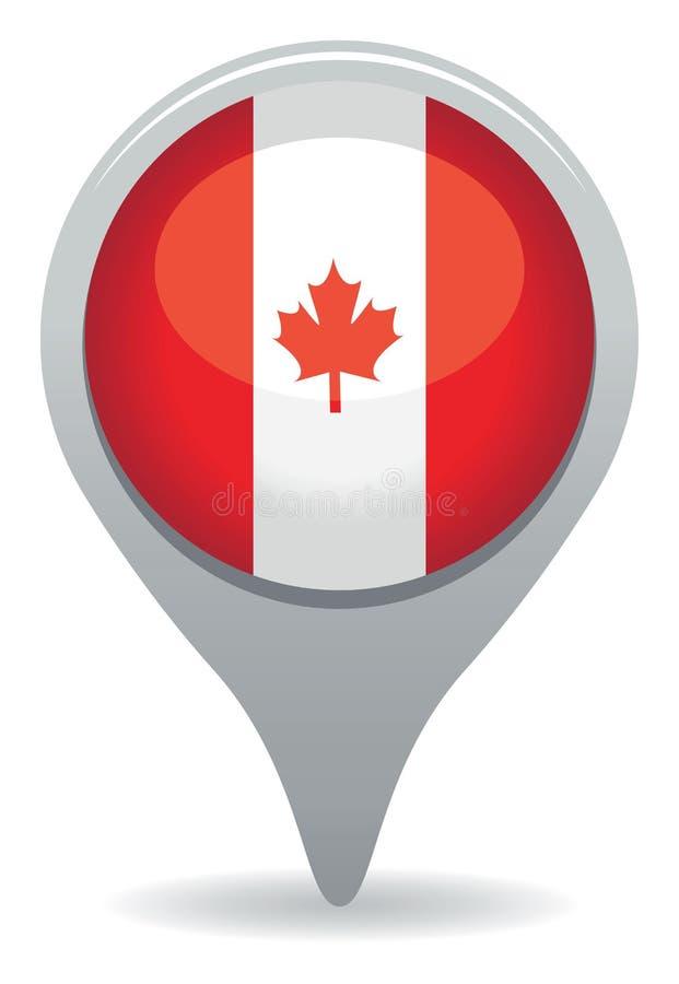 Значок Канады иллюстрация штока