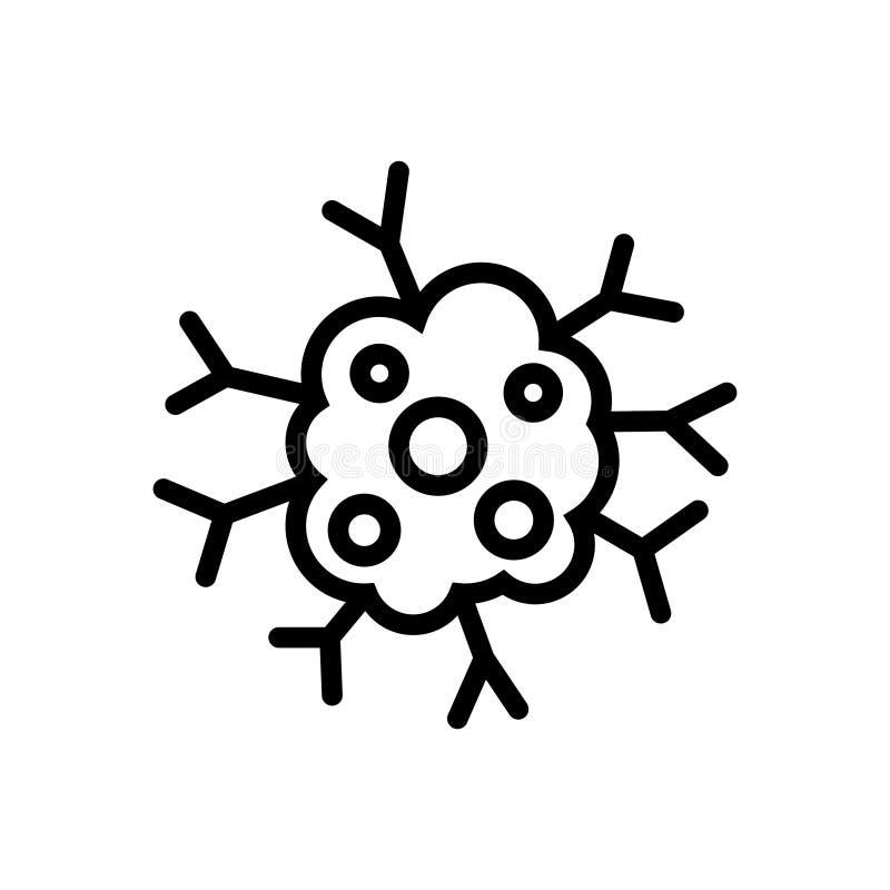 Значок Карциномы, иллюстрация вектора бесплатная иллюстрация