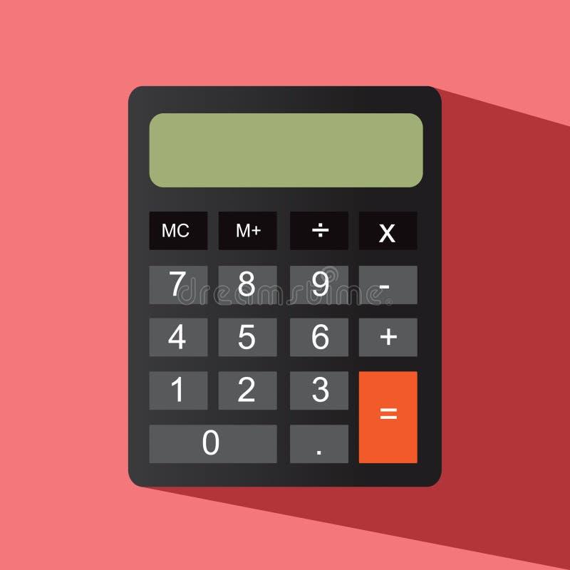 Download Значок калькулятора иллюстрация штока. иллюстрации насчитывающей конструкция - 40580197