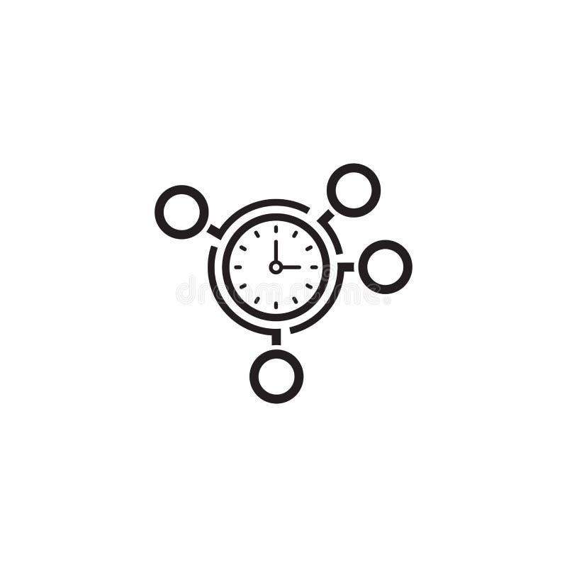 Значок контроля времени r бесплатная иллюстрация