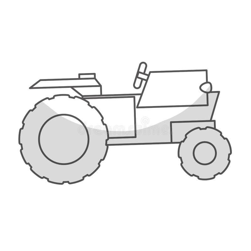 Download Значок корабля трактора иллюстрация вектора. иллюстрации насчитывающей сельско - 81802994