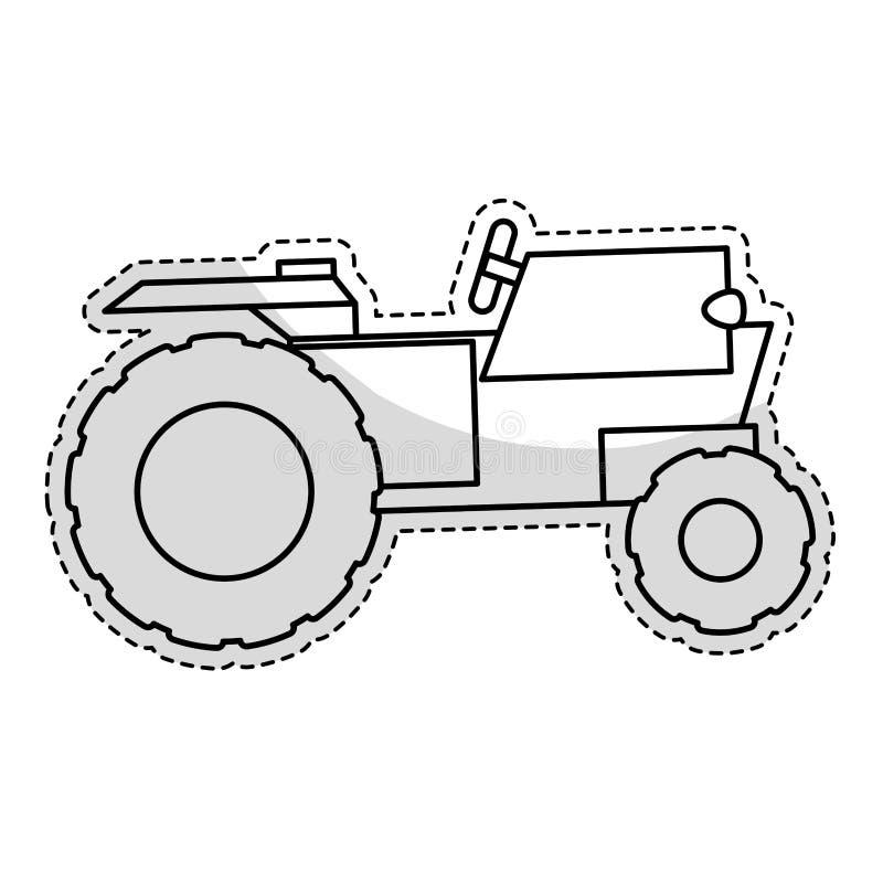 Download Значок корабля трактора иллюстрация вектора. иллюстрации насчитывающей машина - 81803221