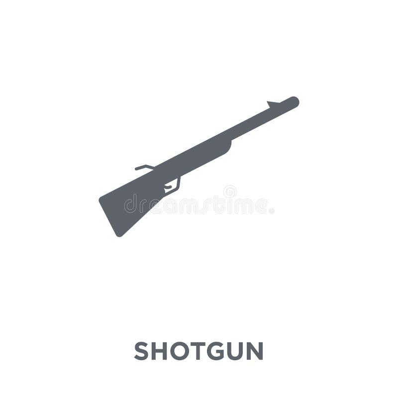 Значок корокоствольного оружия от собрания армии иллюстрация вектора