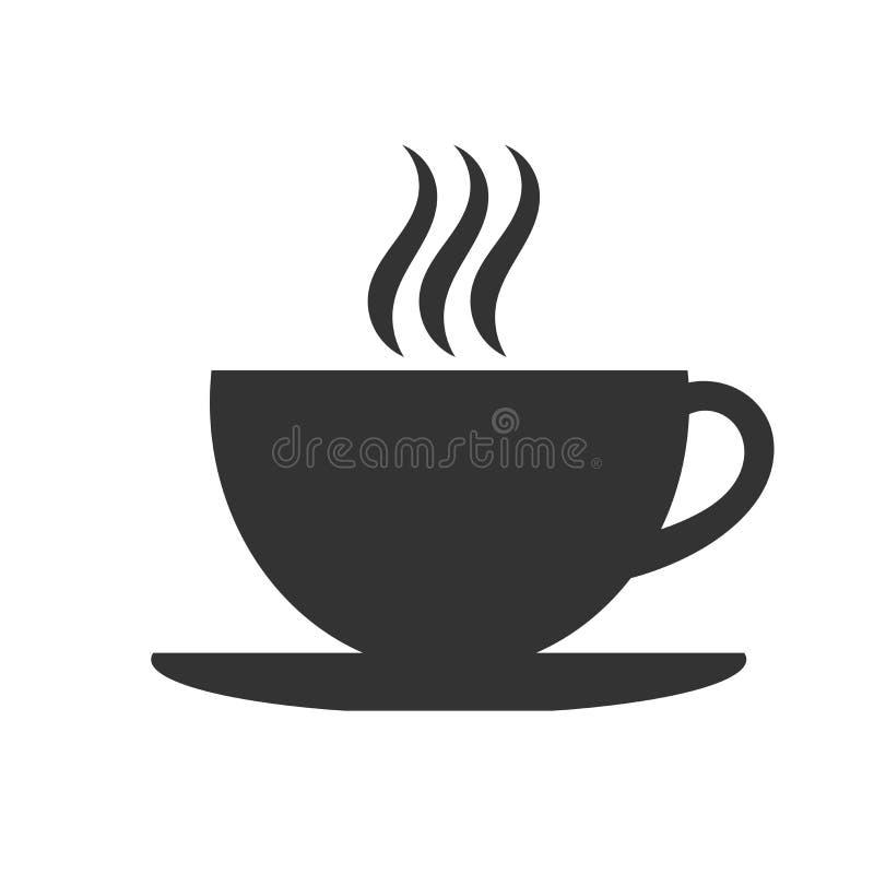 Значок кофейной чашки бесплатная иллюстрация