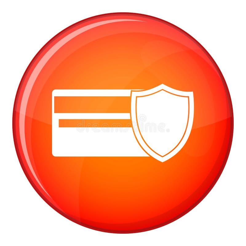 Значок кредитной карточки и экрана, плоский стиль бесплатная иллюстрация