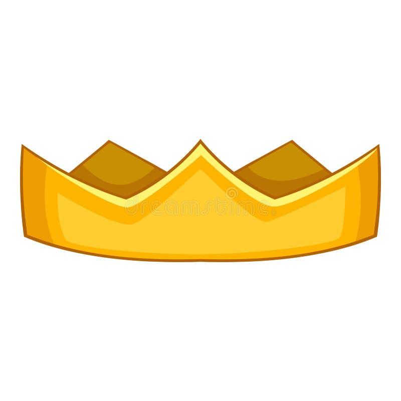 Значок кроны барона, стиль шаржа бесплатная иллюстрация