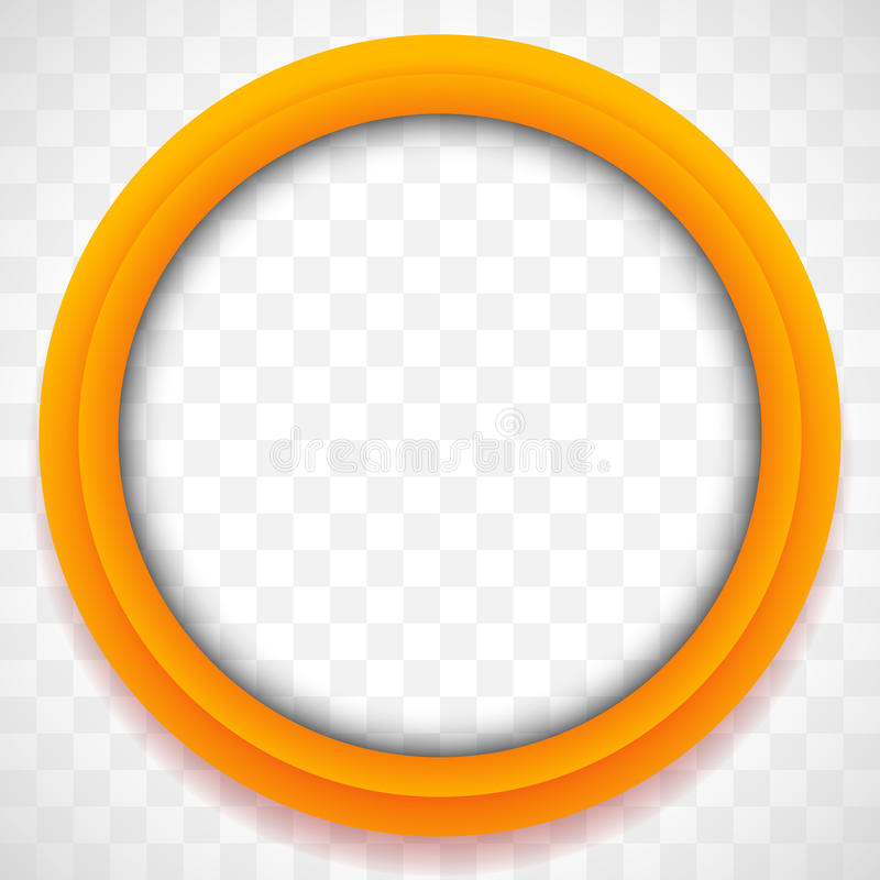 Значок круга Красочная предпосылка значка Абстрактный элемент объектива иллюстрация вектора