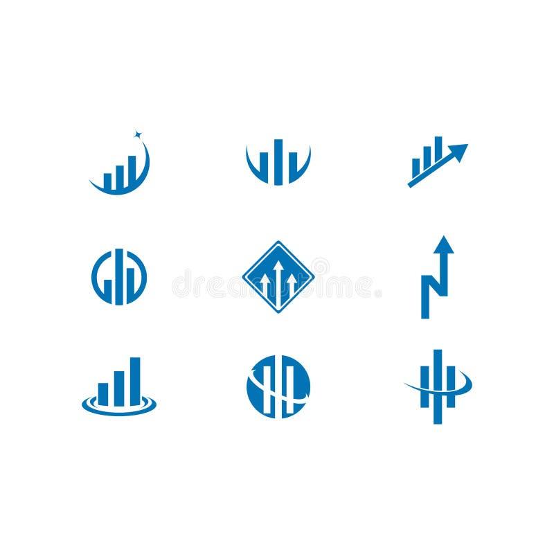 Значок логотипа финансов дела бесплатная иллюстрация