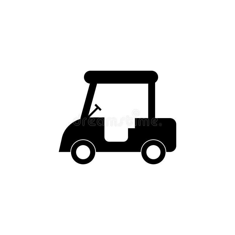 значок машины гольфа Элементы значка перехода Наградной качественный значок графического дизайна Знаки и значок собрания символов иллюстрация вектора