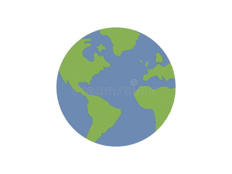 Значок мира стоковое изображение rf