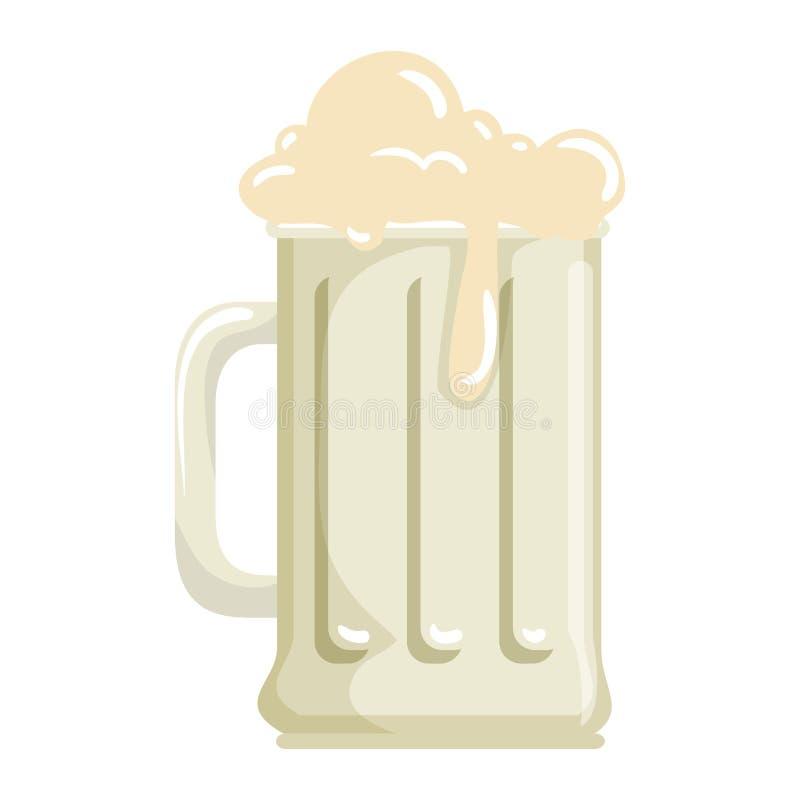 Значок напитка опарника пива бесплатная иллюстрация