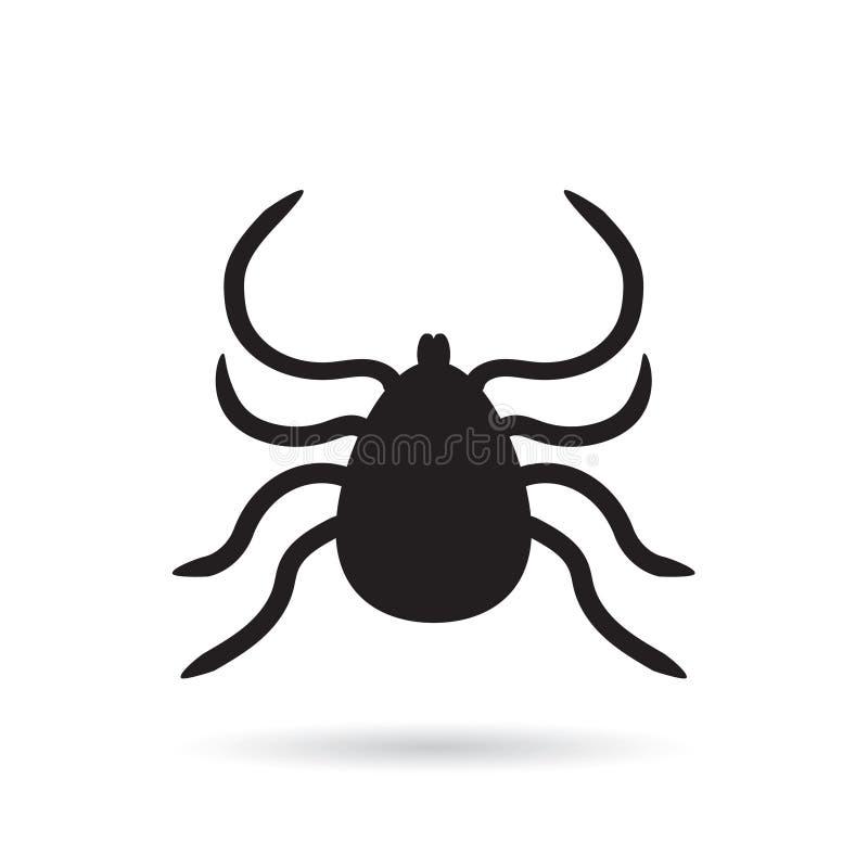 Значок насекомого lyme тикания бесплатная иллюстрация