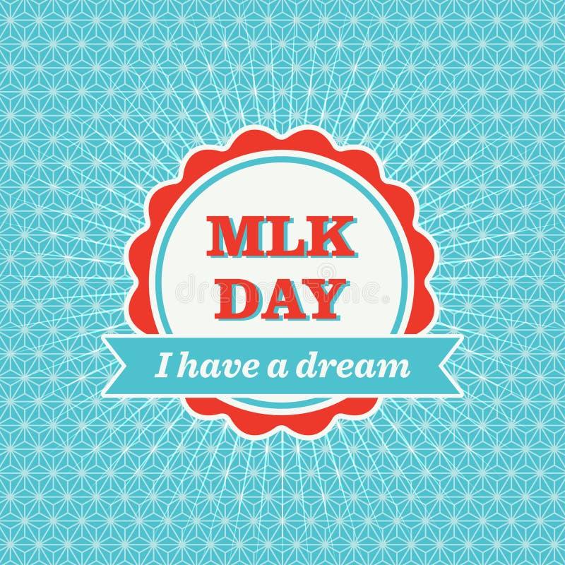 Значок дня MLK бесплатная иллюстрация
