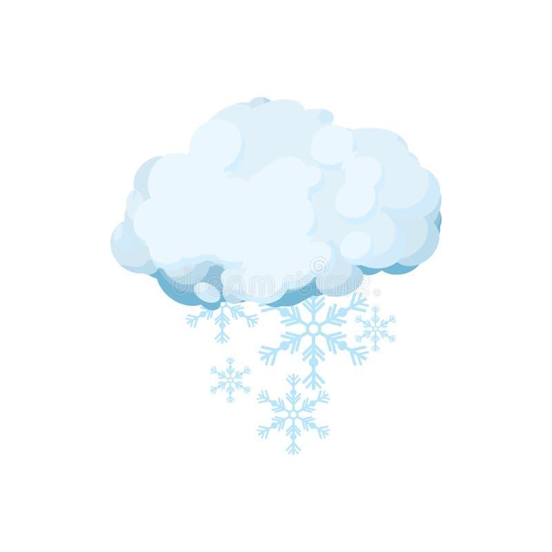 гифка тучки со снегом радостной кавказской