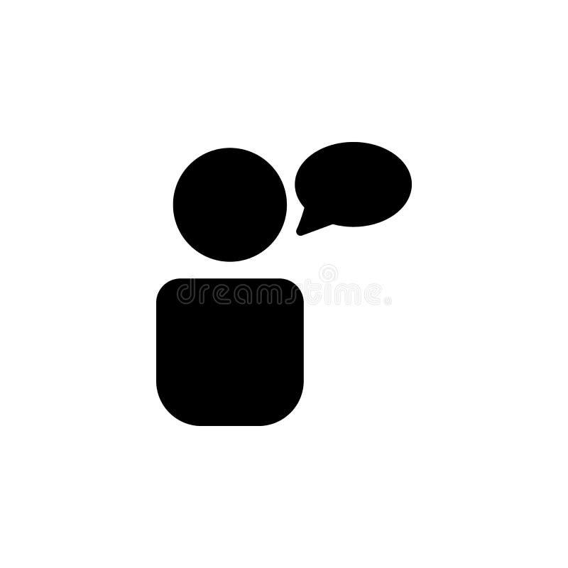 Значок общности Элемент значка сети для передвижных apps концепции и сети Изолированный значок общности можно использовать для се иллюстрация штока
