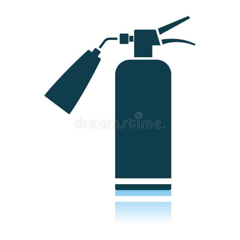 Значок огнетушителя бесплатная иллюстрация