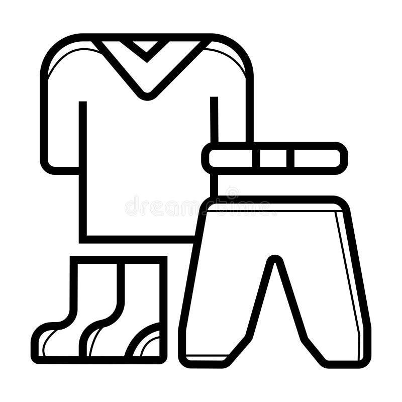 Значок одежды иллюстрация вектора