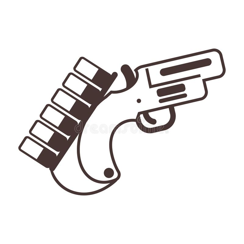 Значок оружия пирофакела бесплатная иллюстрация