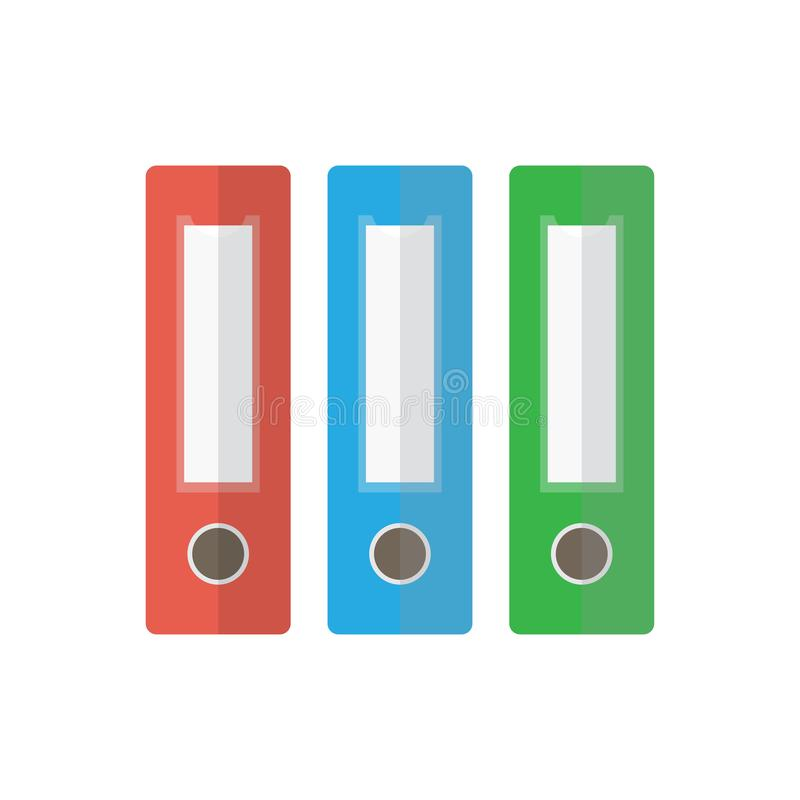Значок папки файла bimbo иллюстрация вектора