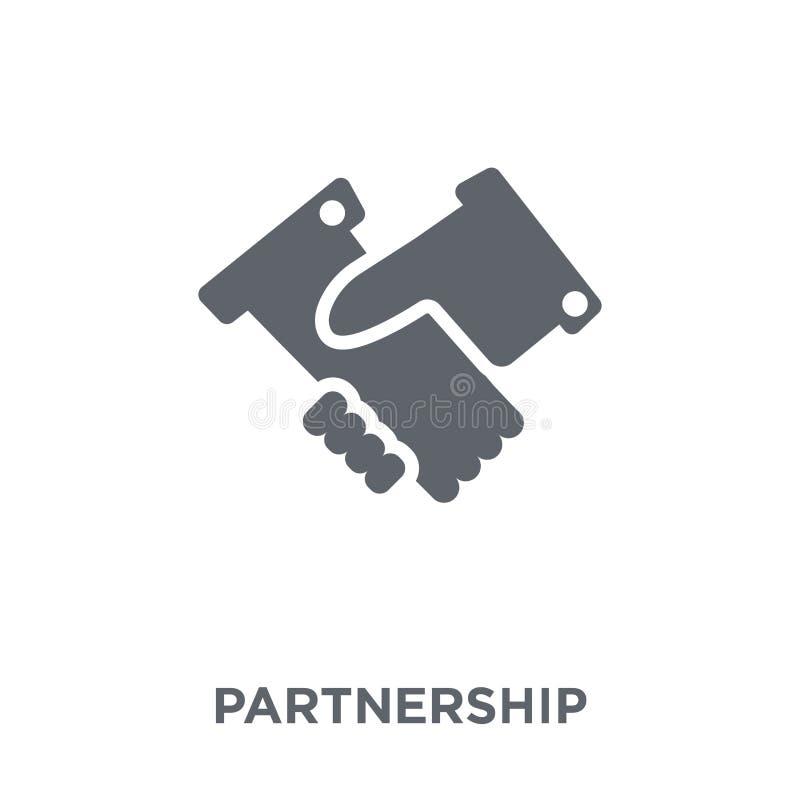 Значок партнерства от собрания бесплатная иллюстрация