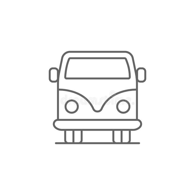значок плана автомобиля корабля Элементы значка иллюстрации Дня независимости E бесплатная иллюстрация