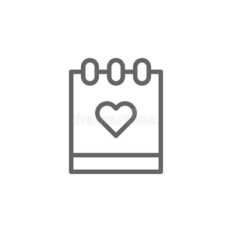 Значок плана календаря дня матерей Элемент значка иллюстрации дня матерей Знаки и символы можно использовать для сети, логотипа,  иллюстрация штока