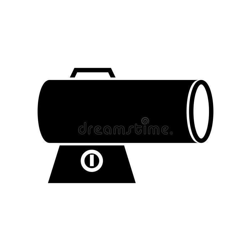 Значок подогревателя торпедо иллюстрация вектора
