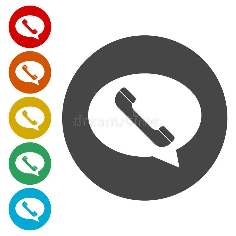 Значок позывного, значок телефона бесплатная иллюстрация