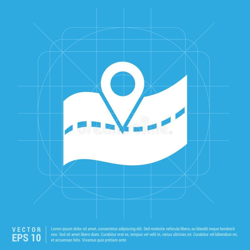Значок положения карты бесплатная иллюстрация