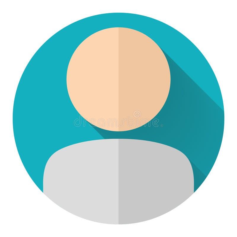 Значок потребителя иллюстрация штока