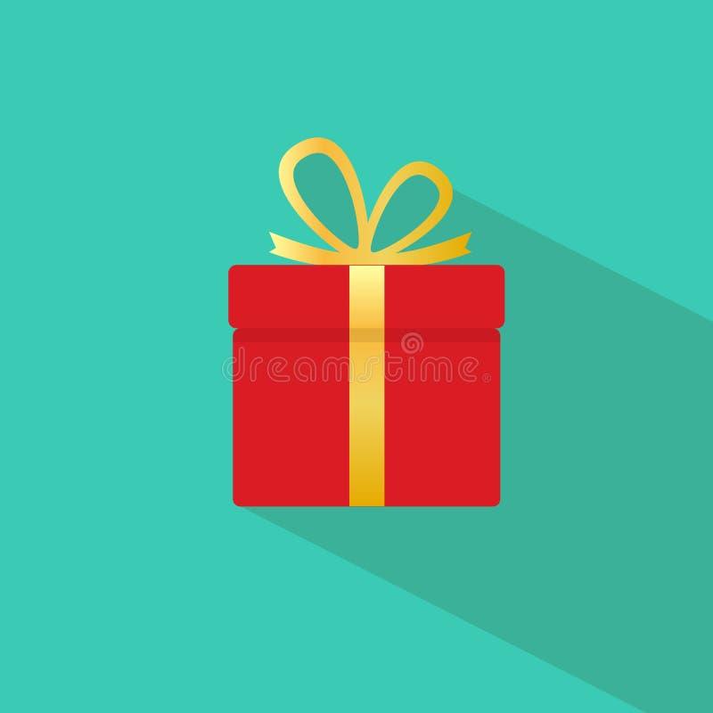 Значок подарочной коробки бесплатная иллюстрация