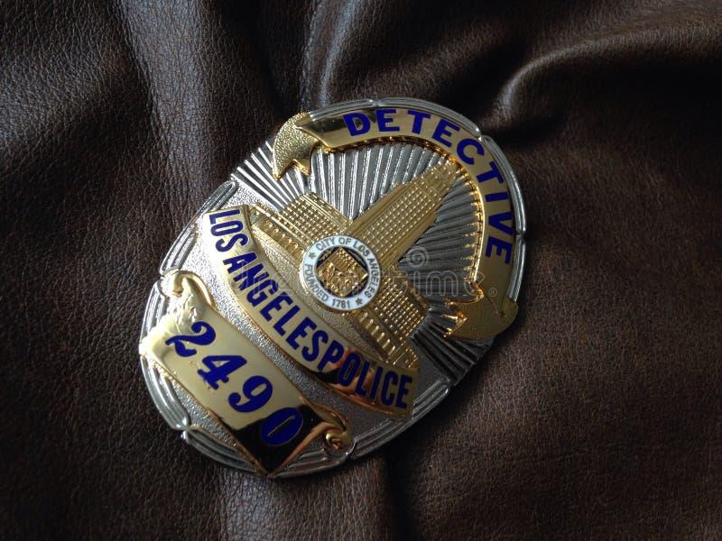 Значок полиции ЛА стоковые фото
