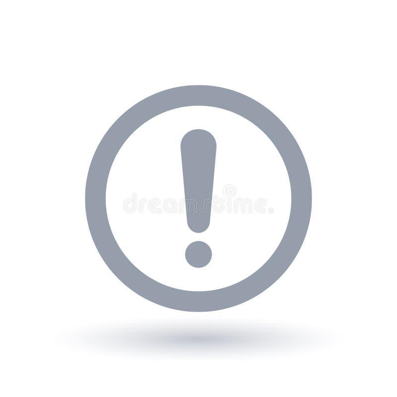 Значок предосторежения Символ опасности внимания запрещенная тележка знака движения опасности грузоподъемника валюты иллюстрация вектора